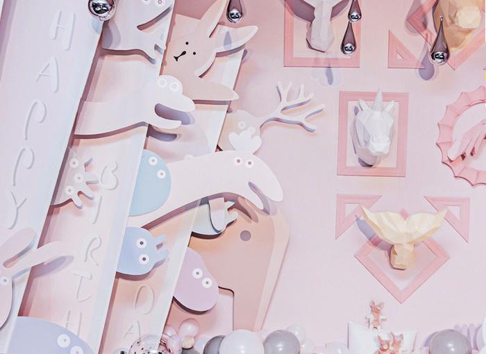 粉色主题 - 魔幻城堡宝宝生日宴